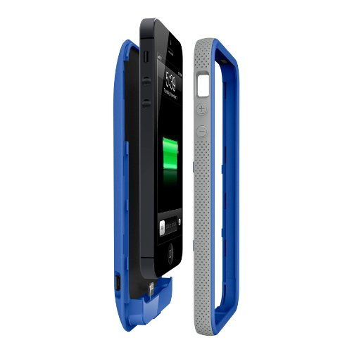 Special Sale Belkin Grip Power Battery Case for iPhone 5 (Blue)