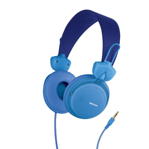 Merkury Innovations Edge Headphones - Blue (M-Hl1090)
