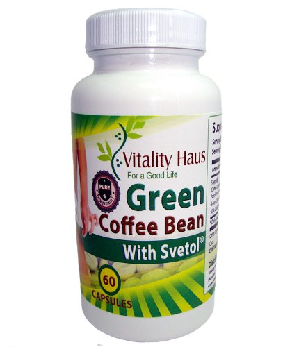 Green Coffee Bean Extract With Svetol® | 800Mg | Clinically-Proven Super Strength Pure Premium Quality | 50% Calorogenic Acid (Cga) | Vegetable Cellulose Veggie Caps | Max Fat Burner With Svetol® As Mentioned On Dr. Oz. | 60 Capsules | Made In Usa