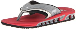 Reef Vision Sandal (Toddler/Little Kid/Big Kid),Grey/Red/Black,7/8 M US Toddler