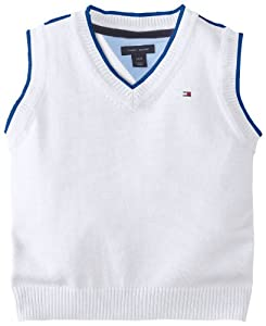 Tommy Hilfiger Baby-Boys Infant Julian Sweater Vest from Tommy Hilfiger
