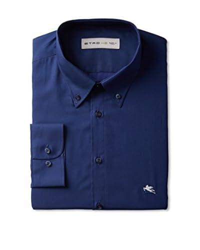 Etro Men's Long Sleeve Dress Shirt