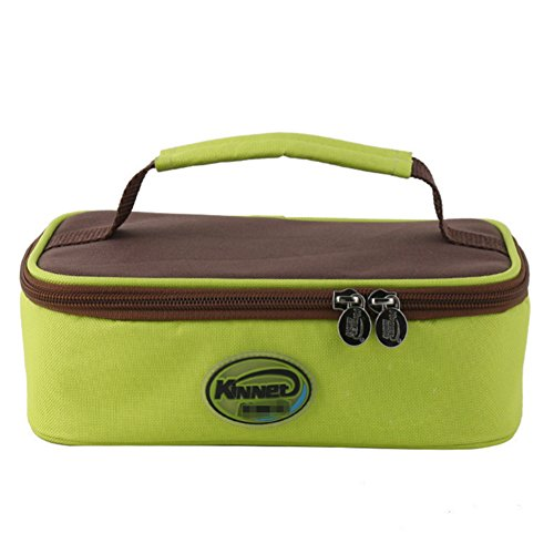 KINNET 3-can Durable Deluxe Insulated Lunch Soft Cooler Bag Outdoor Picnic Bag (MODEL 3) (Lunch Bags With Hard Liner compare prices)