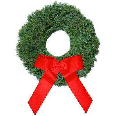Real Fresh-Cut Classic White Pine Christmas Wreath