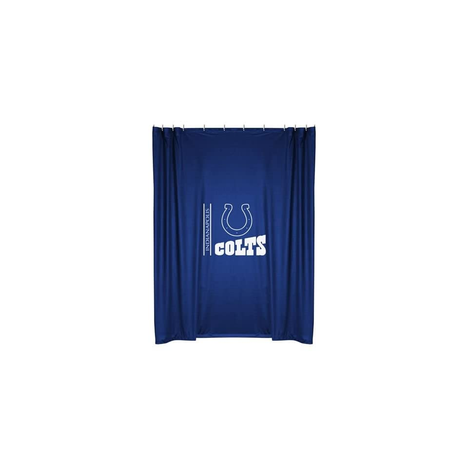 Indianapolis Colts Kids Fabric Shower Curtain