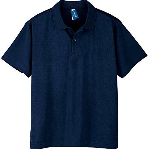 (Teeshatsdotes City) Tshirt.St light and soft to wear light dry Polo Shirt Navy 3 l