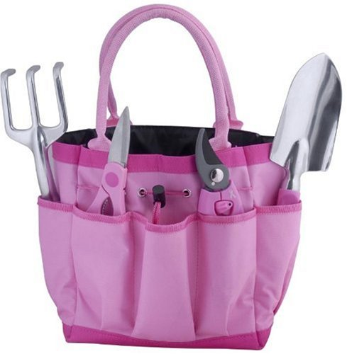 Bond 6930 Pink 5 Piece Garden Tool Bag