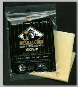 Gorilla gold golf grip enhancer