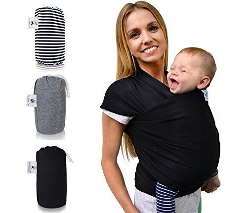 Tragetuch Baby »fastique kids« elastisches Baby-Tragetuch - Baby-Tragetücher für Neugeborene - Bonus: Babytrage-Anleitung