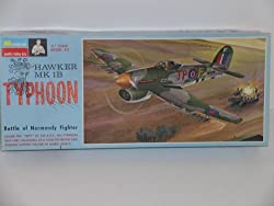 WW II British Hawker Typhoon MK 1B---Plastic Model kit