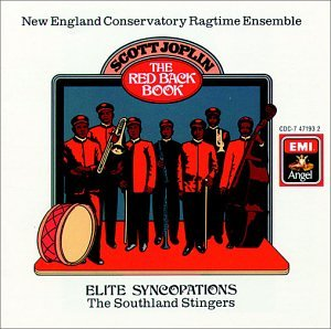 Joplin: Die rote zurück buchen / Schuller, Grierson, New England Conservatory Ragtime Southland Stingers