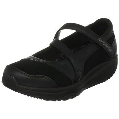Skechers Women's Shape Ups XW Hyperactive Sneaker,Black,8 M US
