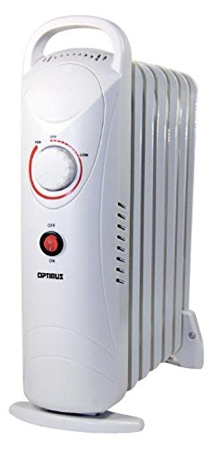 2O9RN Optimus H-6003 Portable Oil Filled Radiator Heater, Mini