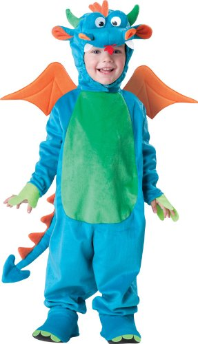 Little Boys' Dinky Dragon Costume Small (3T) front-870234