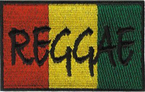 Application Reggae Flag Patch