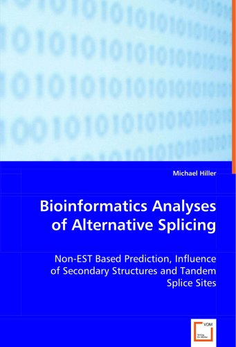 Bioinformatics Analyses of Alternative Splicing: Non-EST Based Prediction, Influence of Secondary Structures and Tandem