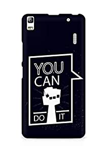 Amez You can Do It! Back Cover For Lenovo K3 Note