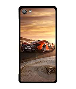 Crazymonk Premium Digital Printed Back Cover For Sony Xperia M5