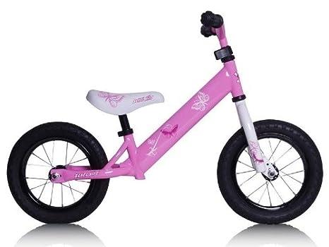 Rebel Kidz draisienne enfant en acier modèle papillon rose