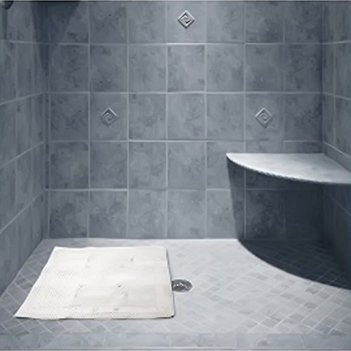 jt bed amp bath non slip bathtub shower mat with suction buy waterbrands seateak 174 large shower mat from bed bath