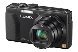 Panasonic Lumix DMC-TZ40EB-K Compact Camera - Black (18.2MP, 20x Optical Zoom Leica DC Lens, Wi-Fi with NFC, Built in GPS, 24mm Wide Angle, 50P Full HD Video - AVCHD) 3 inch LCD