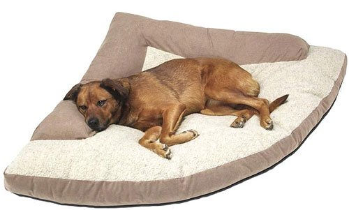 Caddis Corner Dog Bed with Bolster Large 44