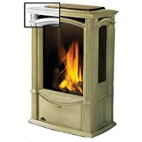 Napoleon Gds26 Castlemore Cast Iron Natural Gas Stove - Winter Frost