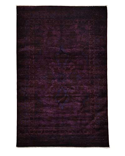 Solo Rugs Ziegler One of a Kind Rug, Purple, 6' x 9'