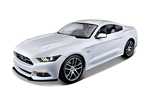 maisto-38133-modellino-auto-2015-ford-mustang-gt-white-scala-118