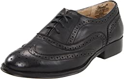 Wanted Shoes Women\'s Babe Oxford, Black, 8 M US