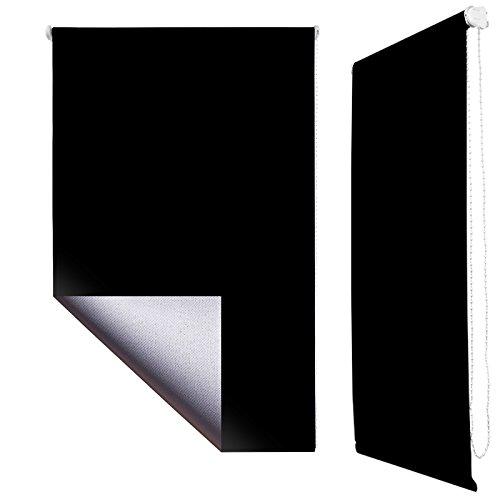 store-enrouleur-occultant-avec-un-cote-isolant-thermique-klemmfix-sans-percage-ni-vis-60x160cm-noir