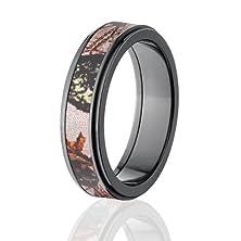 buy Mossy Oak Camo Rings, Camouflage Wedding Bands, Pink Breakup Bands
