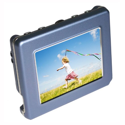 Digital Foci PAD-280 Deluxe OLED 2.8-Inch Pocket Album Digital photo viewer (Sky Blue)