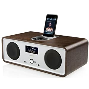 Review and Buying Guide of Cheap Ruark Audio R2i DAB/FM Stereo with iPod Dock: Walnut