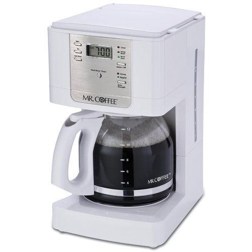 Mr. Coffee JWX20 12-Cup Programmable Coffeemaker,