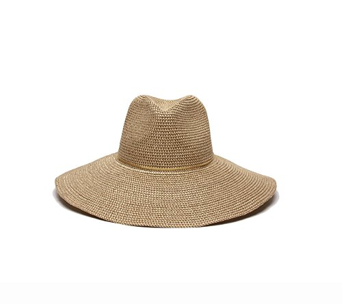 ale-by-alessandra-womens-sancho-adjustable-toyo-hat-with-leather-trim-gold-shimmer-one-size