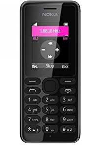 Nokia 108 UK Sim Free Mobile Phone - Black