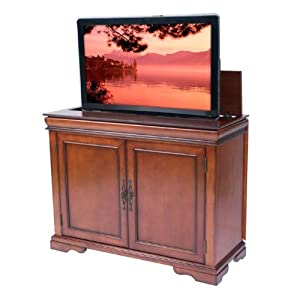 amazon com touchstone tremont 42 inch tv lift cabinet