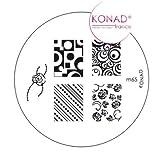 Konad Nail Art Image Plate M65 [Misc.]