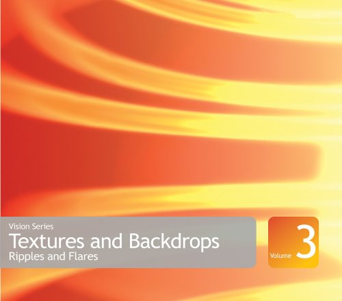 Vision Series Textures and Backdrops Volume 3: Ripples and Flares Collection - Complete package - 1 user