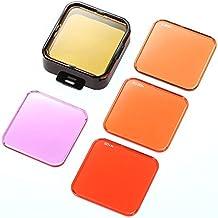 Alcoa Prime Andoer 5 Lens Filters Set Professional Switchable Scuba Diving Camera Lens Filter Kit For GoPro Hero...