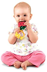 Fisher-Price Sweet Treats Teether, Strawberry (Discontinued by Manufacturer)