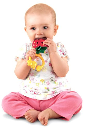 Fisher-Price Sweet Treats Teether, Strawberry (Discontinued by Manufacturer) (Fisher Price Strawberry compare prices)