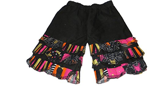 Jojo's Boutique Halloween Ruffle Peasant Petal Pants 6-12 months (Mustard Pie 12 Months compare prices)