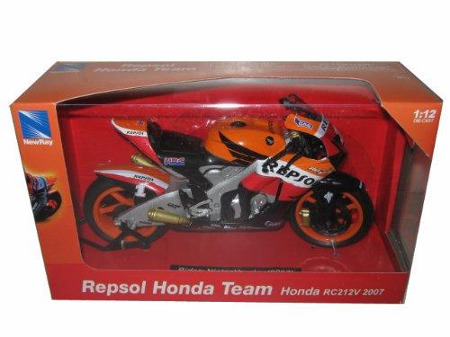 Repsol Honda RC212V #1 2007 Nicky Hayden Bike Motorcycle 1/12 by New Ray 43023