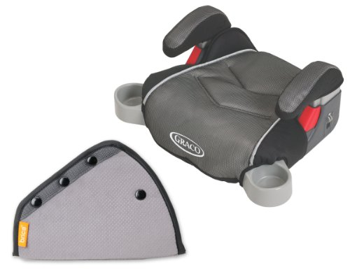 Graco Backless Turbobooster Booster Car Seat With Seat Belt Adjuster, Galaxy front-30151