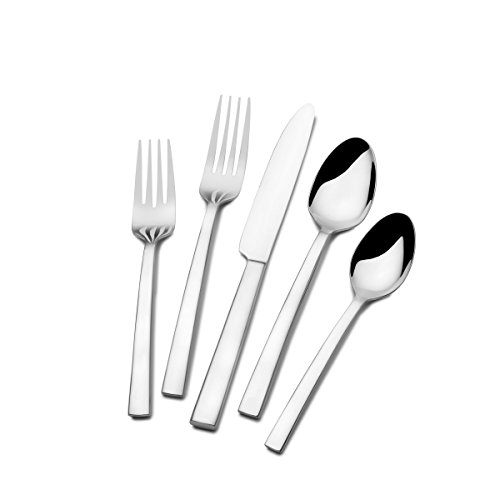 St. James Annapolis Flatware 18/10 Forged Stainless Steel 40pc Set (Forged Stainless Steel Flatware compare prices)