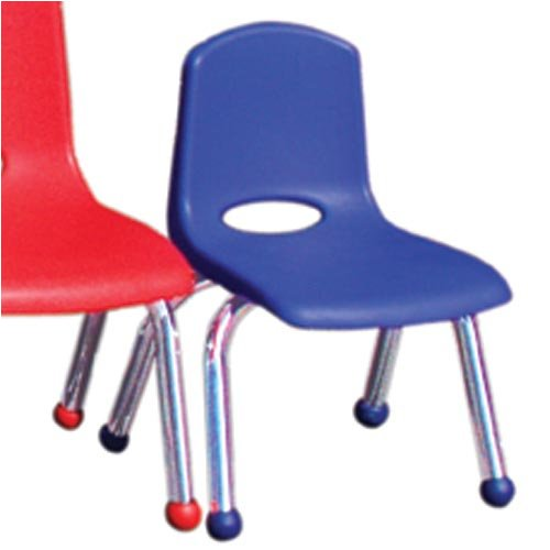 Stacking Chairs Plastic 12 H Seat Red Set Of 2 Toys And
