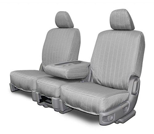 Custom Fit Seat Covers for Land Rover Range Rover Sport Middle 40/60 Split Bench - Silver Canvas Fabric (Range Rover Sport Seat Covers compare prices)