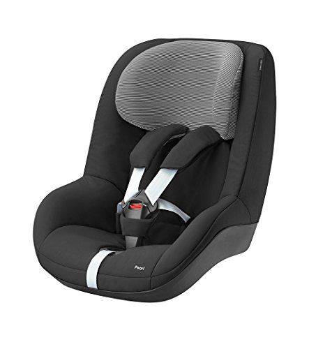 Bébé Confort 63438951 Seggiolino Auto Pearl Gruppo 1 (9-18 Kg), Nero (Black Raven)